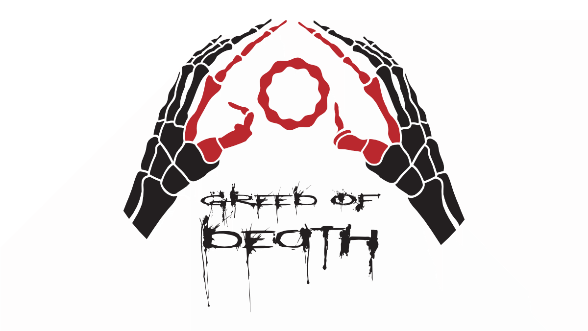 Logo Metalband Greed Of Death