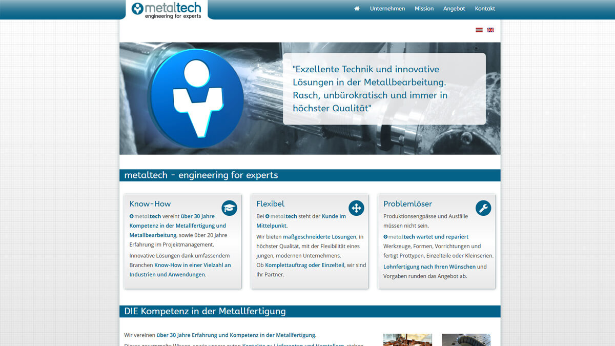 Website metaltech