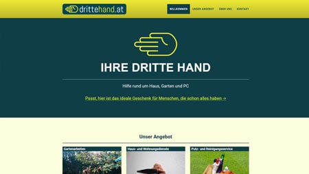 Website drittehand.at