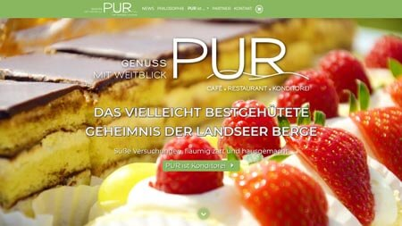 Website PUR Landsee